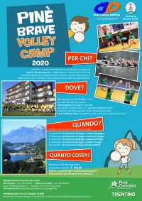 Pinè Brave Volley Camp 2020 front web